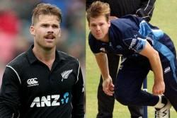 English T20 Blast Double Hattrick In One Day New Zealand Bowlers Adam Milne Lockie Ferguson Lead Win