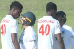 Zimbabwe Vs Bangladesh Only Test Icc Fines Taskin Ahmed And Blessing Muzarabani