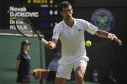 Wimbledon 2021 Winner Novak Djokovic 2018 Photo Went Viral Where He Stand In Front Of Hindu God