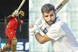 Delhi Cricketer Subodh Bhati Slams 17 Fours 17 Sixes Hits 205 Runs In 79 Balls Smashes Chris Gayle