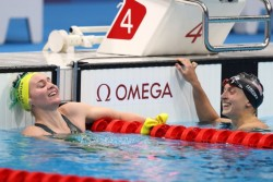 Tokyo 2020 Olympics When Australian Swimmer Ariarne Titmus Claims Swimming Freestyle Gold Coach Wild