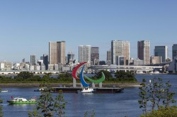Paralympics Games Paralympic Flame Reaches Tokyo Amid Record Breaking Covid Cases