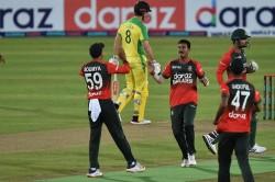Bangladesh Won The First T20 Match By 23 Runs Against Australia