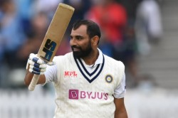 India Vs England 2nd Test Mohammed Shami Hits A Brilliant Fifty