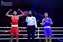 Rohit Bharat Vishu And Tanu Win Gold Medal For India In Asian Junior Boxing Championships
