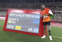 Tokyo Paralympics 2020 Pm Modi President Kovind Congratulates Sumit Antil Who Breaks World Record