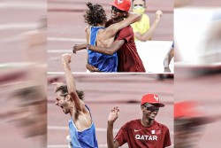 Tokyo Olympics 2020 First Time In History Two Players Won Gold Medal In High Jump Victory