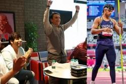 Tokyo Olympics 2020 Neeraj Chopra Won Gold In Javelin Throw Ashish Nehra Dances Sunil Gavaskar Sings
