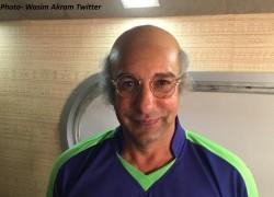 Wasim Akram S Champak Chacha Look Viral He Is Going Through Quarantine In Australia