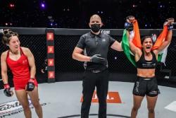 Women One Atomweight World Grand Prix Mma Ritu Phogat Beats Chinese Fighter To Reach Semifinals