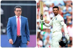 Sanjay Manjrekar Said If I Wasnt Dropped Rahul Dravid Would Not Have Come In