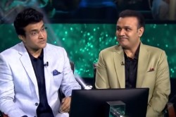 Kbc 13 Ganguly Sehwag Could Not Answer The Question Related To Ms Dhoni