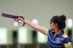 Manu Bhaker Wins Gold In 10m Air Pistol Event At The Issf Junior World Championship