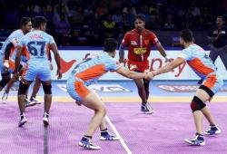 प्रो कबड्डी लीग 2019 : बराबरी पर छूटा बंगाल वॉरियर्स और दबंग दिल्ली के बीच का मैच
