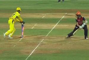 IPL 2018 Final: रॉबिन उथप्पा को पछाड़ एमएस धोनी बने नंबर वन, विलियमसन का किया शिकार