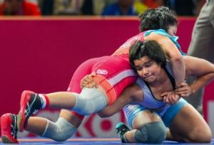 एशियाई गेम्सः फ्रीस्टाइल कुश्ती के 68 किलो वर्ग में दिव्या ने जीता कांस्य पदक