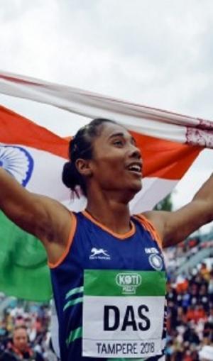 असम के मुख्यमंत्री ने किया ऐलान, हिमा दास होंगी राज्य की पहली खेल राजदूत