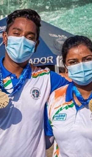 आर्चरी विश्वकप में अतानु दास और दीपिका कुमारी ने जीता गोल्ड मेडल