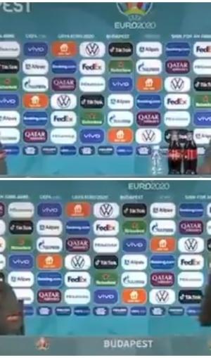 प्रेस कॉन्फ्रेंस से रोनाल्डो ने हटाई कोका-कोला की बोतल, कोच सिर खुजाते रह गए- VIDEO वायरल
