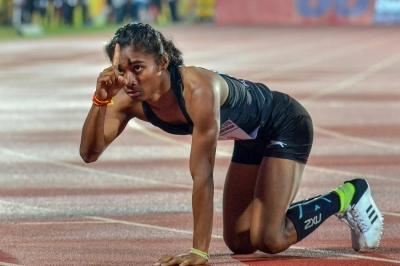 ट्रैक इवेंट में गोल्ड जीतने वाली पहली एथलीट बनीं हिमा दास