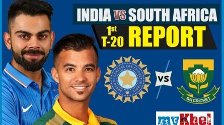 INDvSA 1st T20: भारत ने दक्षिण अफ्रीका को 28 रनों से हराया, सीरीज में 1-0 से आगे