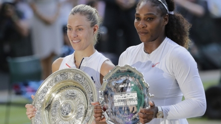 Wimbledon : सेरेना को हरा कर्बर ने जीता पहला विंबलडन खिताब