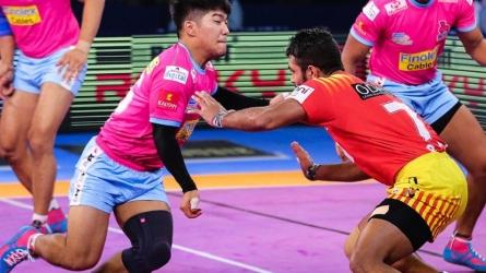 Pro Kabaddi League 2018: गुजरात ने जयपुर और तमिल थलाइवाज ने यूपी को दी मात