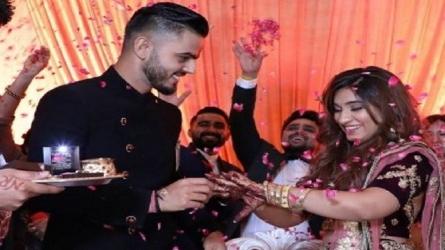 शादी के बंधन में बंधे नीतिश राणा, 'गर्लफ्रेंड' साची को बनाया अपनी दुल्हन