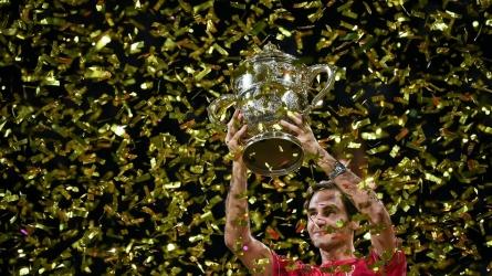 रोजर फेडरर ने जीता बासेल ओपन का खिताब, विश्व रिकाॅर्ड तोड़ने से महज 7 कदम दूर