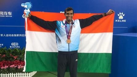 World Military Games: श्रीराम बालाजी ने टेनिस में जीता कांस्य, पुरुष रिले टीम पदक से चूकी