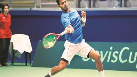 Davis Cup: भारत ने पढ़ाया पाकिस्तान को टेनिस का पाठ, हासिल की 2-0 की बढ़त