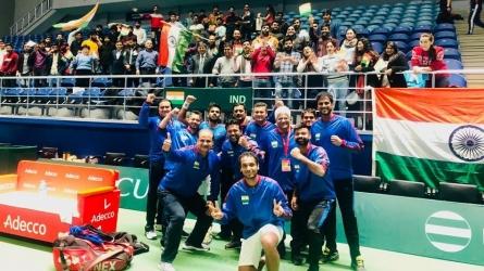 Davis Cup : भारत ने पाकिस्तान को राैंदा, पेस-जीवन की जोड़ी ने डबल्स मुकाबला जीता