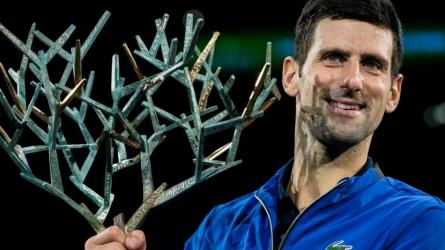 नोवाक जकोविक ने 5वीं बार जीता पेरिस मास्टर्स का खिताब, एटीपी में नंबर 1 की ओर