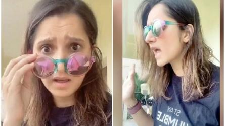 टिकटॉक पर छाईं सानिया मिर्जा, फैंस खूब पसंद कर रहे हैं वीडियो