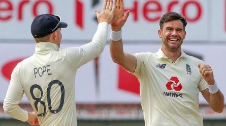 जेम्स एंडरसन ने हासिल की खास उपलब्धि, ऐसा काम करने वाले तीसरे सबसे तेज गेंदबाज बने