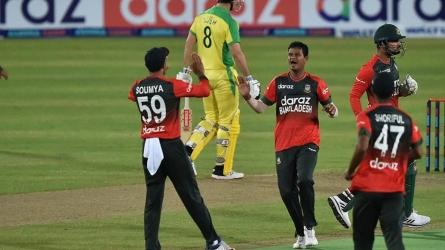 T-20 : बांग्लादेश ने ऑस्ट्रेलिया को चटाई धूल, जीत दर्ज कर रचा इतिहास