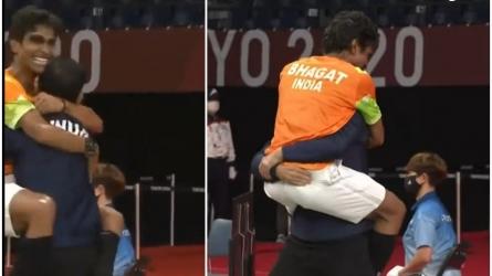 Paralympics: कोच गौरव हुए भावुक, कहा- उम्मीद नहीं थी प्रमोद जीत के बाद गोदी में कूद जाएंगे