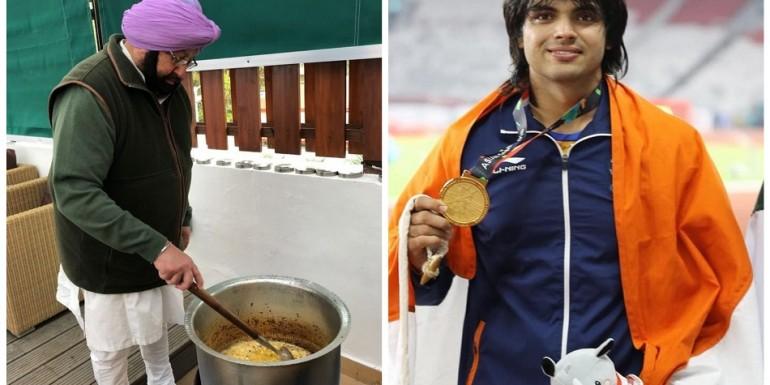 कैप्टन अमरिंदर सिंह बनेंगे शेफ, ओलंपिक पदक विजेताओं को खिलाएंगे खाना