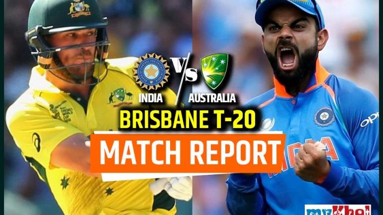 AUS vs IND, 1st T20: ऑस्ट्रेलिया ने भारत को हराया