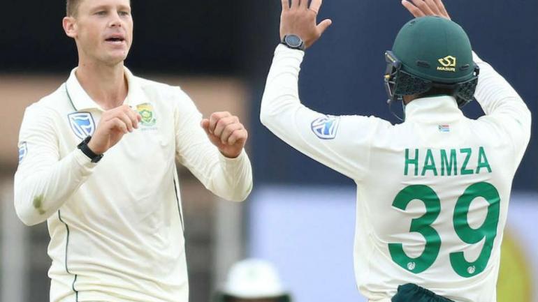 india,south,africa,debutant,george,अफ्रीकी गेंदबाज,चूक,ठोंक,शतक