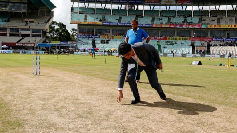 india,bangladesh,pitch,curator,confirms,डे नाइट,टेस्ट मैच,ईडन गार्डन्स,पिच,मिजाज