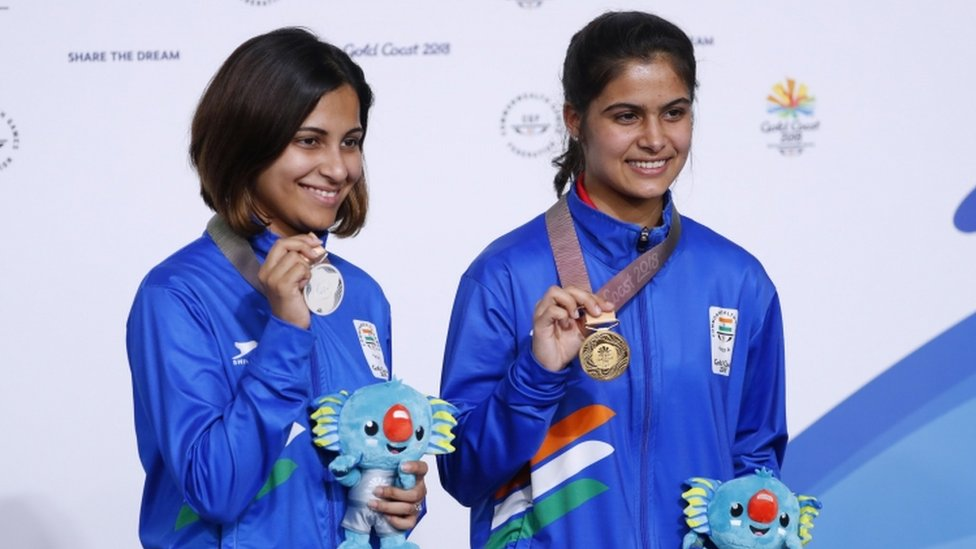 Commonwealthgames2018 Golden Girl Manu Bhaker Profile