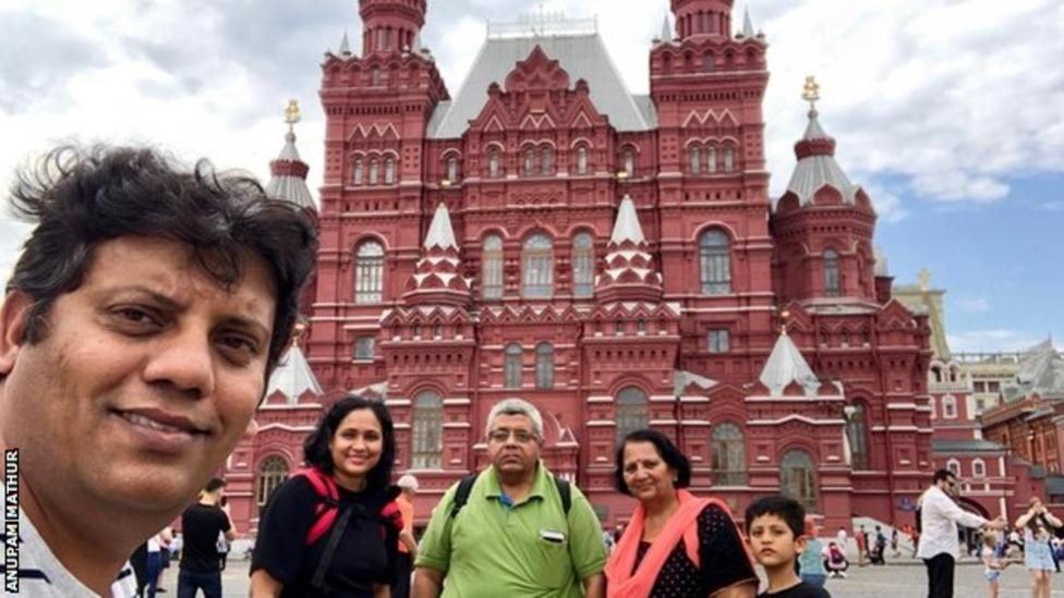 वर्ल्ड कप: भारतीय फैंस जो सिंगापुर से इंग्लैंड आए